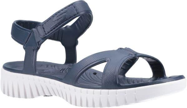 Skechers GOwalk Smart Aloha Sandal Ladies Summer Navy